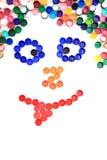 Glimlach van de kappen van het kleurenhuisdier royalty-vrije stock afbeelding
