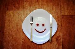 Glimlach van tomaten Royalty-vrije Stock Afbeelding