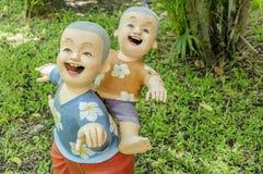 Glimlach van Tucco Retro Thaise kinderen Stock Afbeeldingen