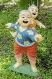 Glimlach van Tucco Retro Thaise kinderen Royalty-vrije Stock Afbeeldingen