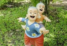 Glimlach van Tucco Retro Thaise kinderen Royalty-vrije Stock Afbeelding