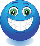 Glimlach. Vreugde. Stock Afbeelding