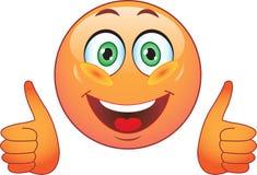 Glimlach. Vreugde. In orde. Royalty-vrije Stock Fotografie