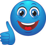 Glimlach. Vreugde. In orde. Stock Afbeelding