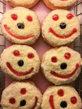 glimlachdoughnut Royalty-vrije Stock Foto