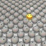 Glimlachenachtergrond Stock Fotografie