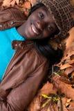 Glimlachend Afrikaans meisje royalty-vrije stock foto's