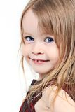 Glimlachend babymeisje Royalty-vrije Stock Afbeelding