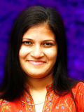 Glimlachend Iraaks Meisje royalty-vrije stock afbeelding