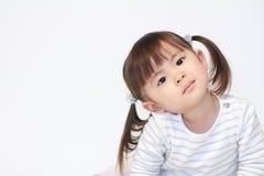 Glimlachend Japans meisje Stock Foto's