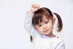Glimlachend Japans meisje Stock Afbeelding