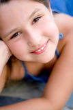 Glimlachend jong geitje Royalty-vrije Stock Afbeelding