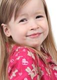 Glimlachend jong meisje royalty-vrije stock foto's