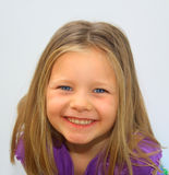 Glimlachend Jong Meisje Royalty-vrije Stock Fotografie