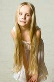 Glimlachend kindmeisje royalty-vrije stock foto's