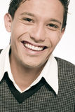 Glimlachend Mannetje Stock Fotografie