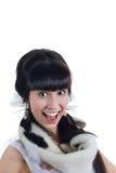 Glimlachend meisje Royalty-vrije Stock Afbeelding