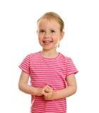 Glimlachend meisje Royalty-vrije Stock Foto