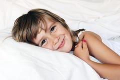 Glimlachend meisje Royalty-vrije Stock Foto's
