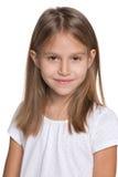 Glimlachend Mooi Meisje Royalty-vrije Stock Afbeeldingen