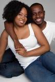 Glimlachend Paar stock fotografie