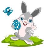 Glimlachend Pasen konijntje Royalty-vrije Stock Afbeeldingen