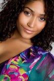 Glimlachend Zwart Meisje royalty-vrije stock fotografie