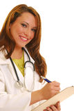 Glimlachende arts Stock Afbeeldingen