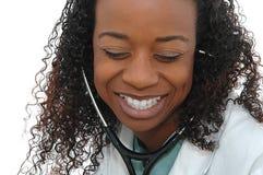 Glimlachende arts Stock Afbeelding