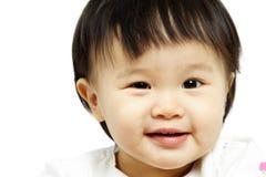 Glimlachende baby Stock Fotografie