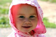Glimlachende baby Royalty-vrije Stock Afbeeldingen