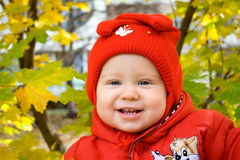 Glimlachende baby Royalty-vrije Stock Afbeelding