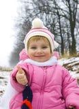 Glimlachende baby Stock Foto's