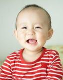 Glimlachende baby Stock Afbeeldingen
