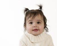 Glimlachende baby Stock Afbeelding