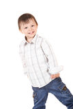 Glimlachende baby Royalty-vrije Stock Foto