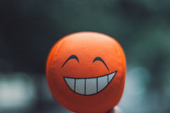 Glimlachende bal Stock Foto