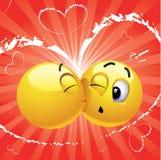 Glimlachende ballen stock illustratie