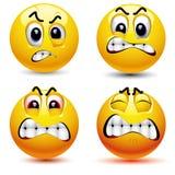 Glimlachende ballen royalty-vrije stock afbeelding