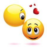 Glimlachende ballen Royalty-vrije Stock Afbeeldingen
