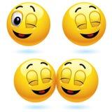 Glimlachende ballen Stock Afbeeldingen