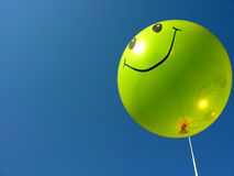 Glimlachende ballon Royalty-vrije Stock Afbeelding