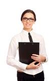 Glimlachende bedrijfsvrouw Royalty-vrije Stock Fotografie