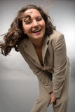 Glimlachende bedrijfsvrouw Royalty-vrije Stock Afbeelding