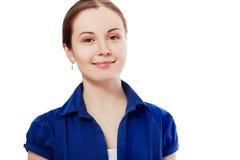 Glimlachende bedrijfsvrouw stock fotografie