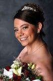 Glimlachende Bruid Stock Foto's