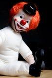 Glimlachende clown Stock Foto