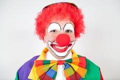Glimlachende clown royalty-vrije stock afbeeldingen