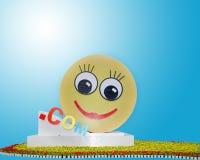 Glimlachende Com Stock Fotografie