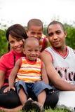 Glimlachende familie Royalty-vrije Stock Afbeelding